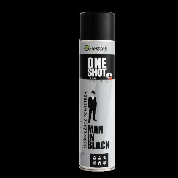 Odświeżacz Freshtek One Shot Man In Black