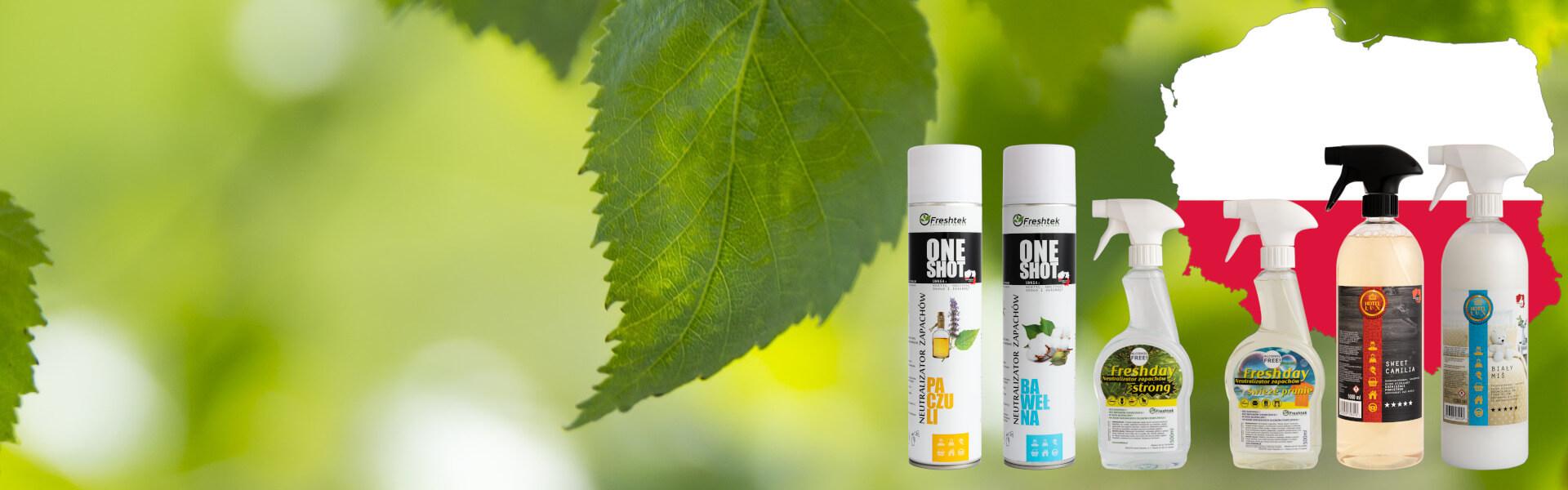 Polski producent neutralizatorów zapachów